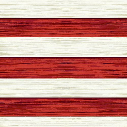 America the Beautiful - Red and White Strip