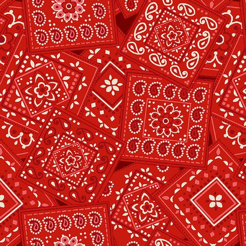 America the Beautiful - Red Bandanna