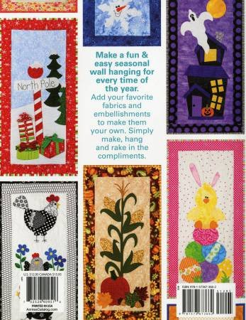 QUILTED SKINNIES FOR ALL SEASONS BOOK BY MARGIE ULLERY