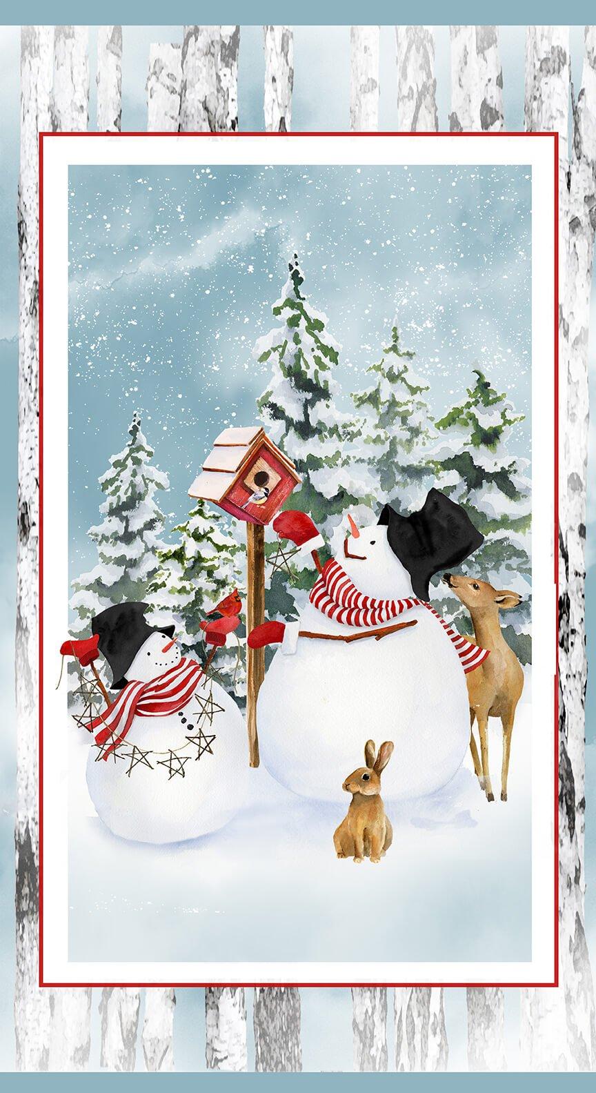 Snow Days - Snowman 24 Panel