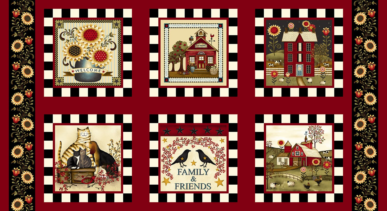 Count Your Blessings - 24 Block Panel