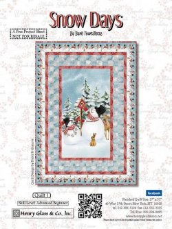 Snow Days Quilt #1 Free Download