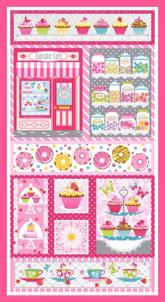 Cupcake Cafe 23.5 Panel