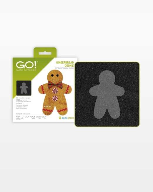 AccuQuilt GO! Gingerbread Cookie Die