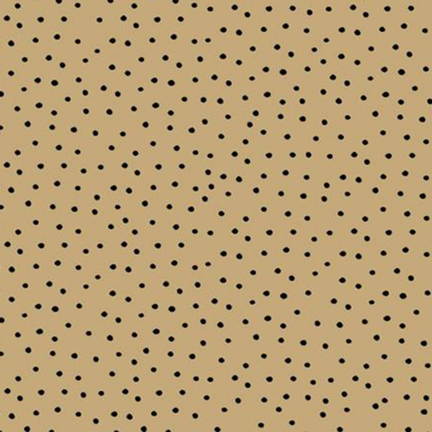 Dinky Dots Tan and Black