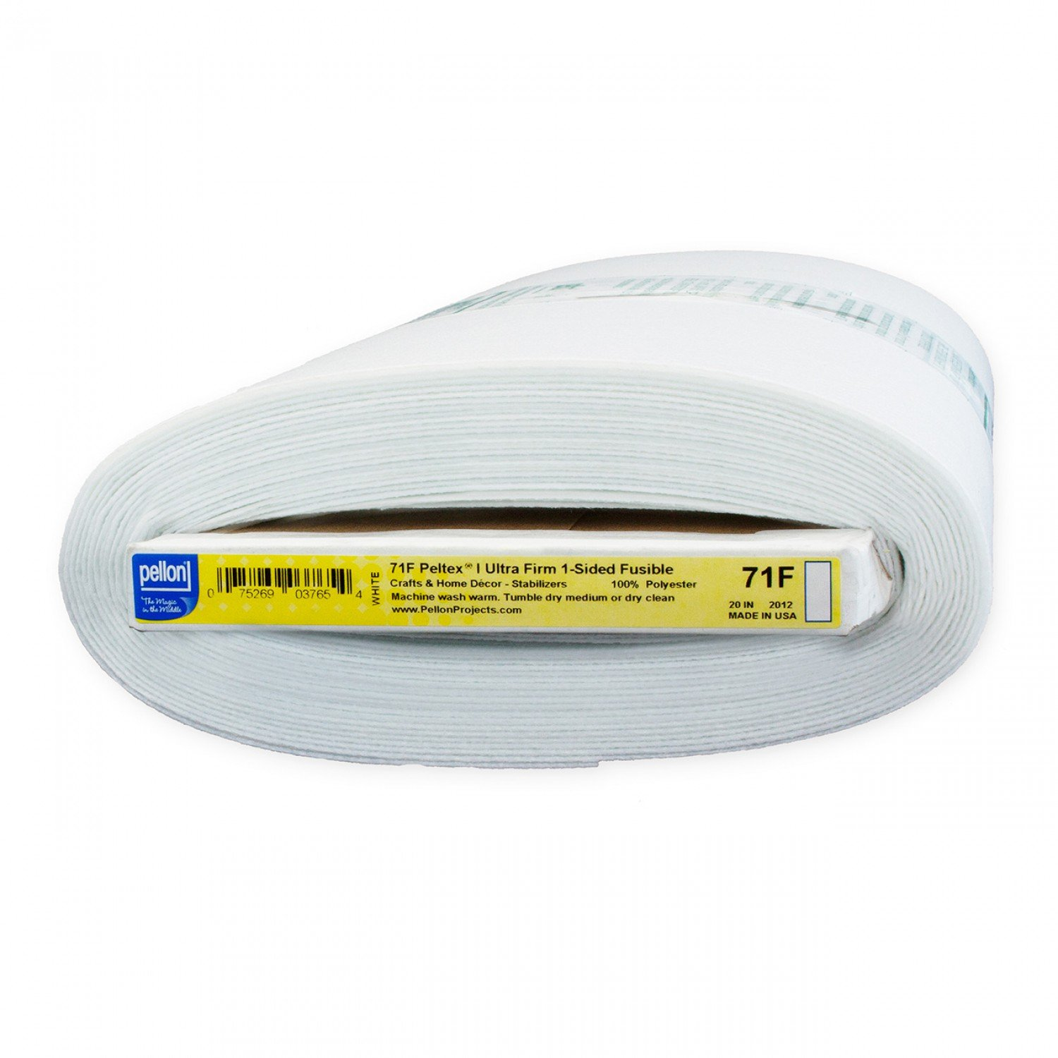 PELLON PELTEX  SINGLE SIDED FUSIBLE WHITE