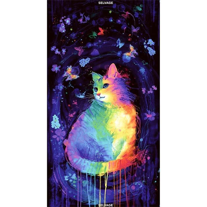 Mystical Cat 24 Panel