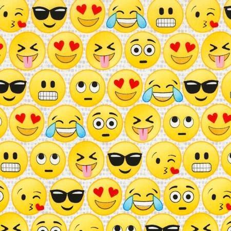 Emoji on White Background