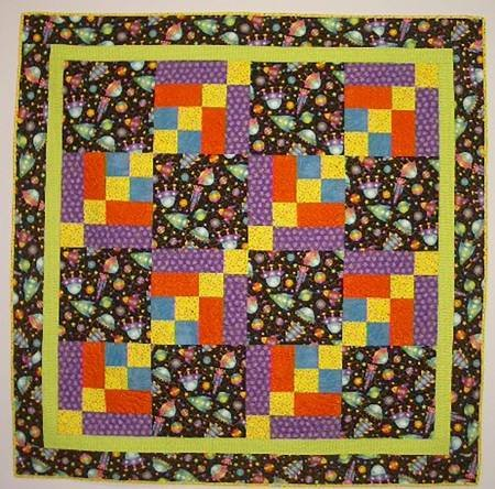 OUTER LIMITS QUILT PATTERN DESIGNED BY BRENDA PALMITER