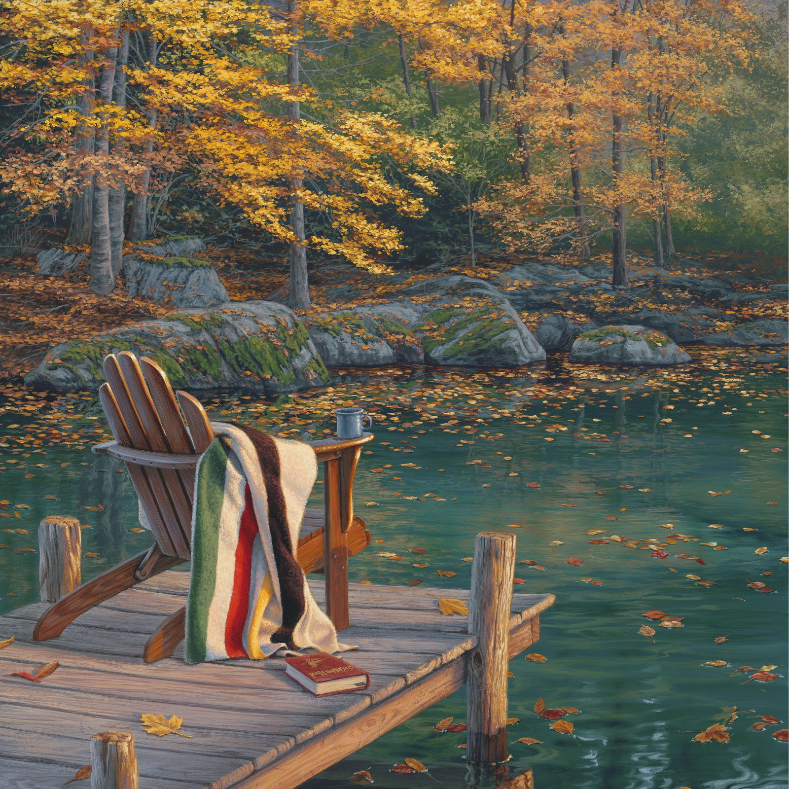 On Golden Pond -  43 Panel