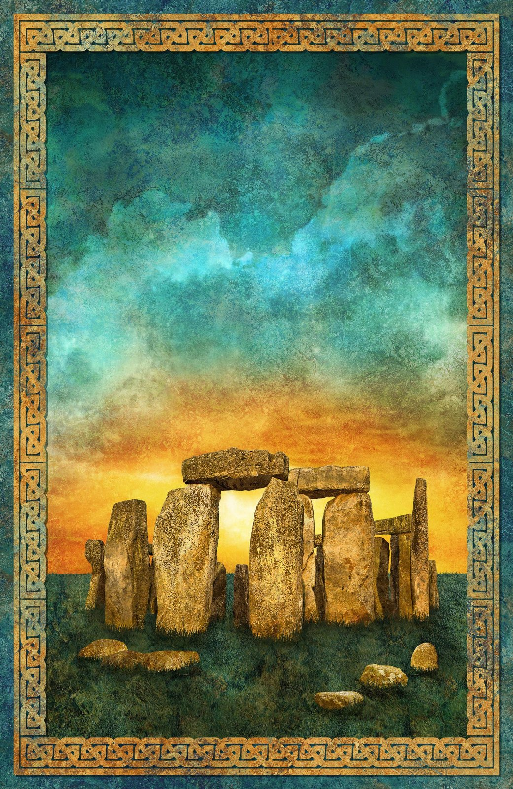Stonehenge Solstice 29 Panel