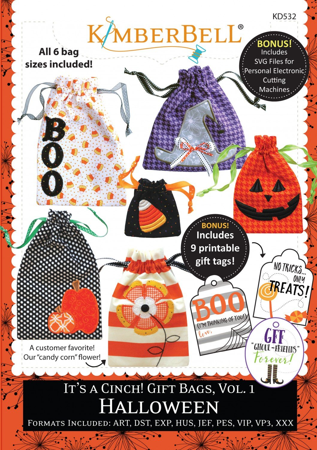 It's a Cinch! Gift Bags Halloween CD