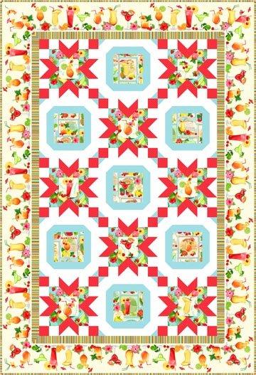 ISLAND MIXER QUILT PATTERN BY PROJECT HOUSE 360