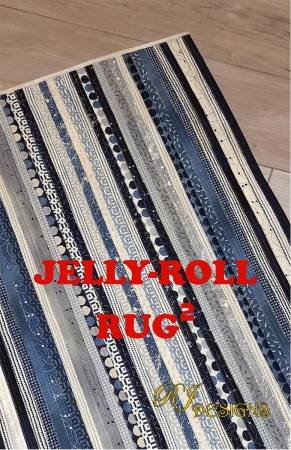 Jelly Roll Rug 2 Pattern