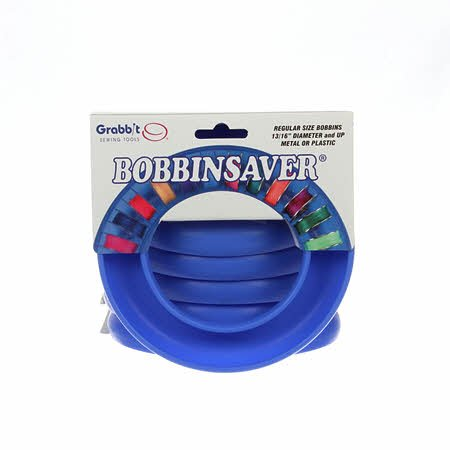 BOBBIN SAVER UNIVERSAL BOBBIN HOLDER BY GRABBIT Blue