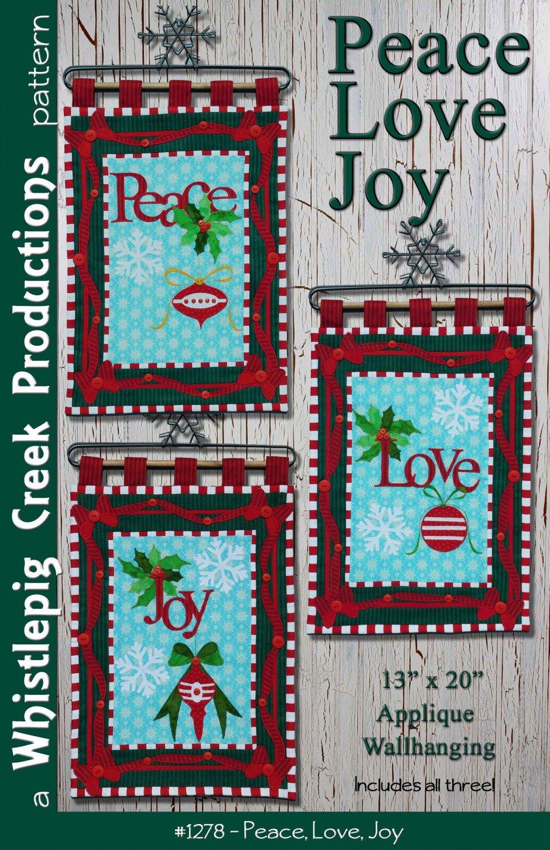 Peace Love Joy Pattern
