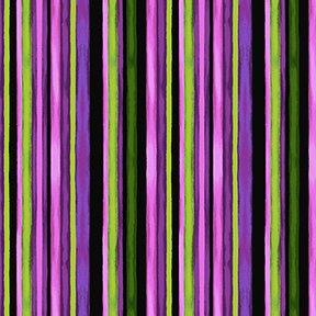 Misty Meadow Stripe - Black