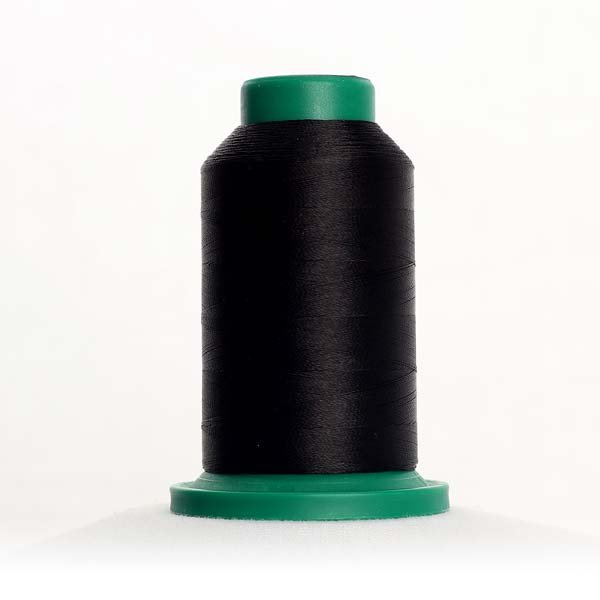 Isacord 1000m Polyester - Black (0020)