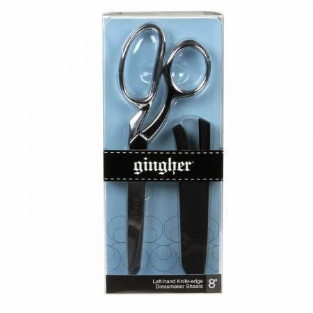 Gingher 8in Knife Edge Left Handed Scissors