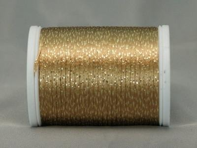 YLI Metallic Braid Cinnamon/Gold 328-10-054
