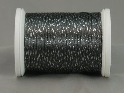 YLI Metallic Braid Charcoal/Silver 328-10-058