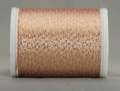 YLI Metallic Braid Peach Sorbet 328-10-108