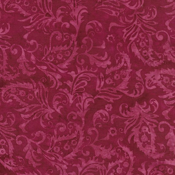 The Orchard - Paisley Floral - Pomegranate 1218-18375