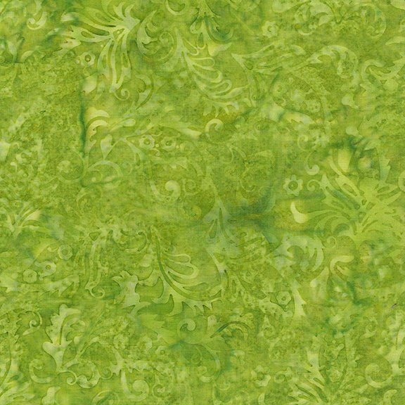 The Orchard - Paisley Floral - Lemon Lime 1218-18612