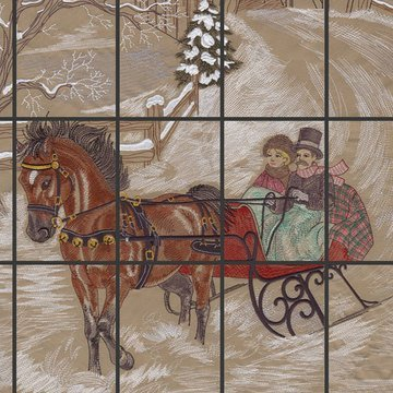 OESD Dashing Through the Snow Machine Embroidery CD
