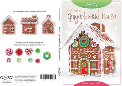OESD Freestanding Lace: Gingerbread House