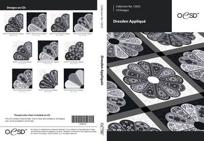 OESD Dresden Appliques CD