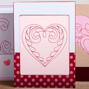 Quilted Hearts Machine Embroidery CD