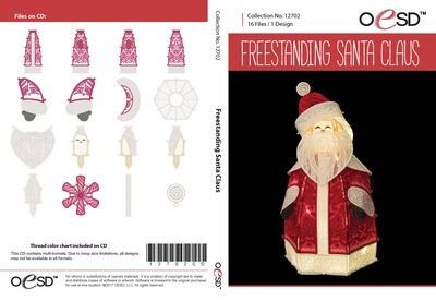 OESD Freestanding Santa Claus CD
