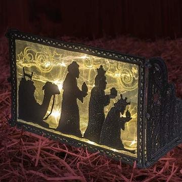 OESD Freestanding Nativity Light Boxes CD