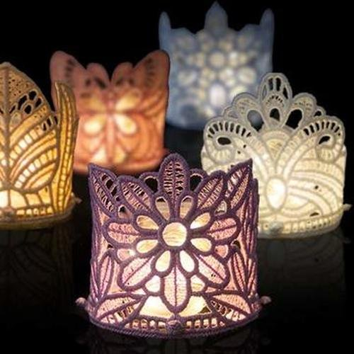 OESD Freestanding Mini Tea Light Holders CD