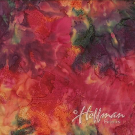 Hoffman Bali Mottles Global Spice 1384-634
