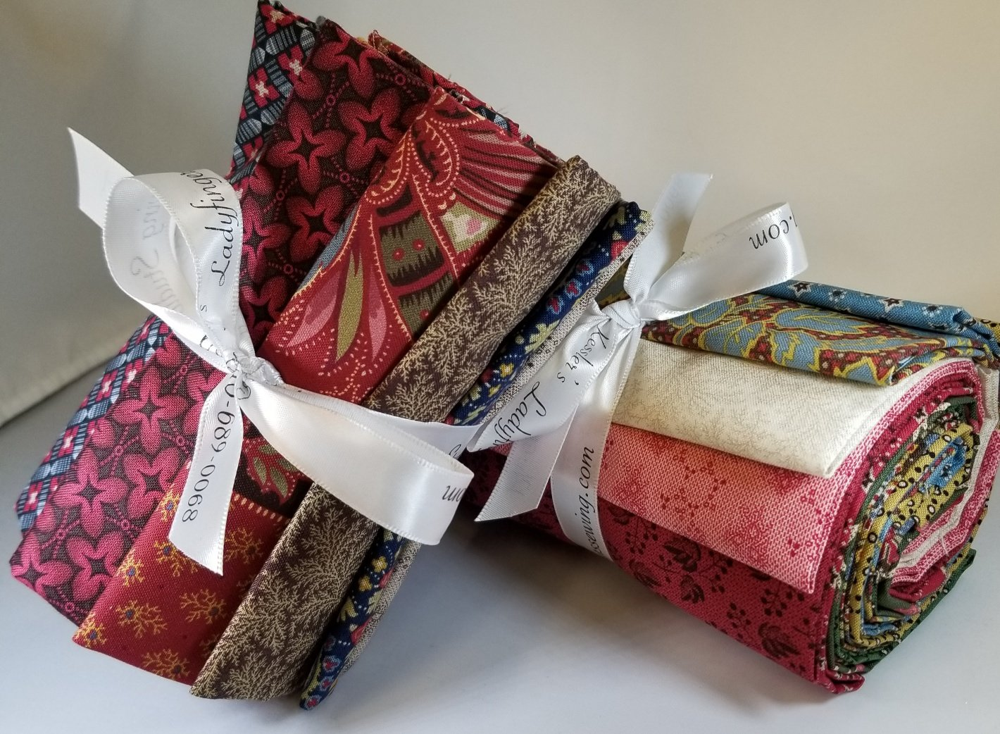 Baltimore House Fat Quarter Bundle A (10 FQ's)