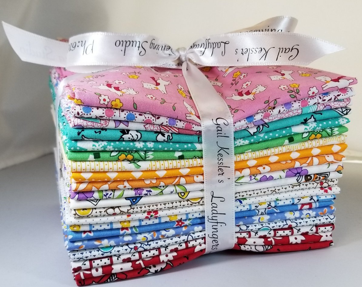 Aunt Grace 1930's Fat Quarter Bundle