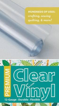 Clear Vinyl - 12 Gauge - 16 x 1-1/2