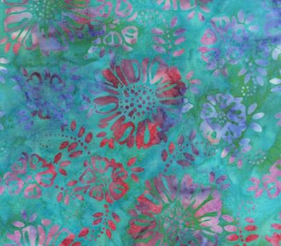 Flower Ship Batiks - Flowers 2082Q-X
