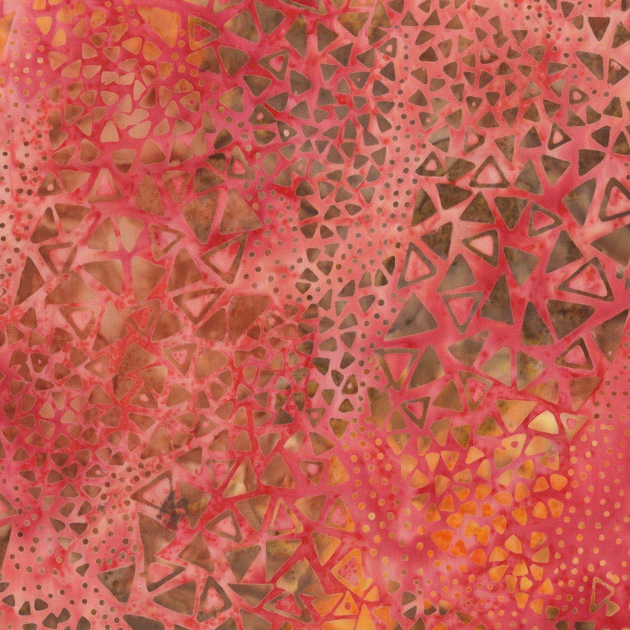 Anthology Batik Print - Triangles 210Q-8