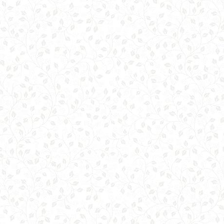 Quilting Illusions - Leaf Vine - White 21520-Z