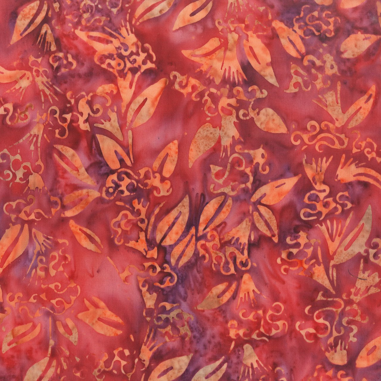 Anthology Batik Print - Fan Flowers 222Q-1
