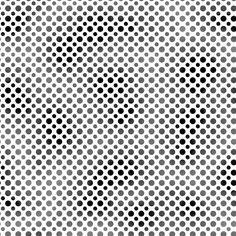 Ombre Dots Black 23413-J