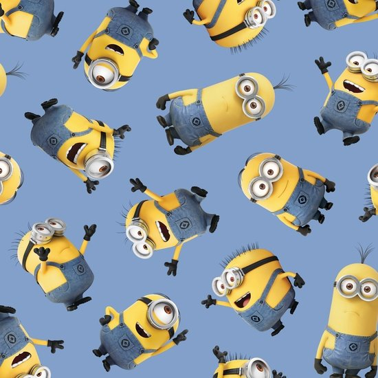 Blue Tossed Minions. Despicable Me - 1 In A Minion