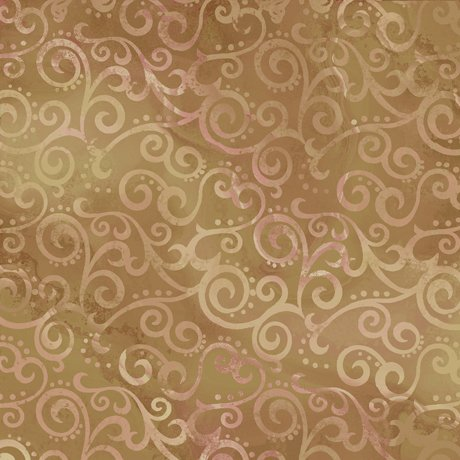 Ombre Scroll Camel