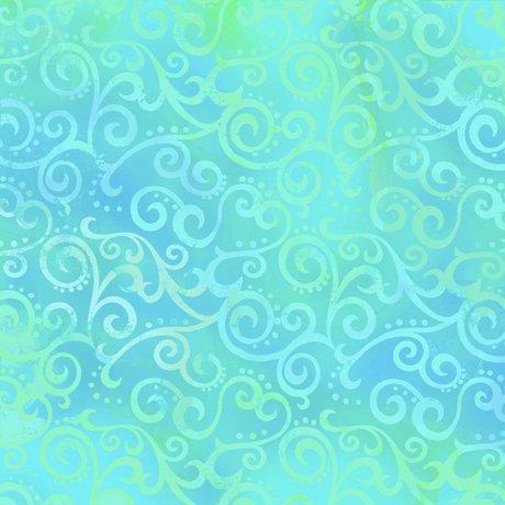 Ombre Scroll Aqua 24174-BQ