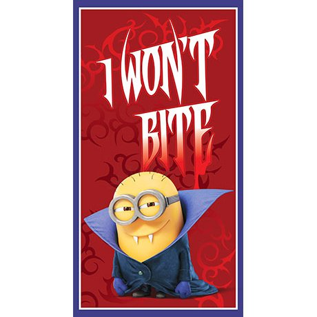 Minions Bite Me Panel 24510-R