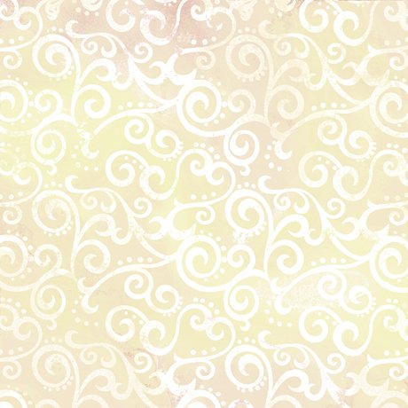 Ombre Scroll 108 Wide - Ecru