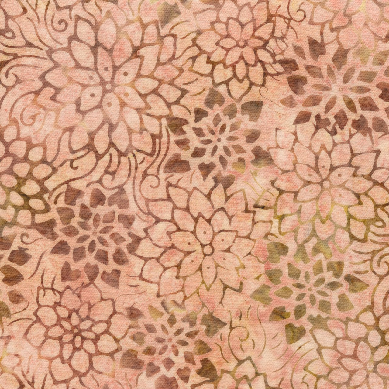 Anthology Batik Print - Flower Stencil 256Q-2